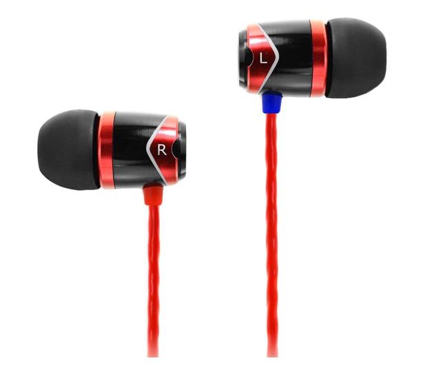 SoundMagic E10 Black-Red - 156739 - zdjęcie