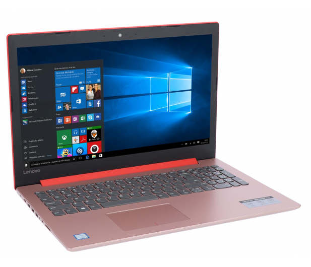 Lenovo Ideapad 330-15 i3-8130U/4GB/1TB/Win10 Czerwony - 468371 - zdjęcie 4