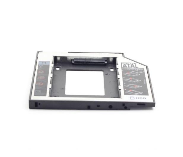 "Gembird Adapter 5.25"" do dysku 2.5"" (slot DVD 12.7mm) - 471278 - zdjęcie 3"