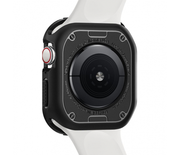 Spigen Obudowa Rugged Armor Apple Watch 4/5 44 mm Black - 471545 - zdjęcie 2