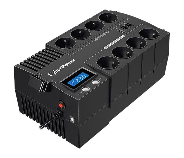 CyberPower UPS BR1200ELCD-FR (1200VA/720W, 8x FR, AVR) - 543069 - zdjęcie