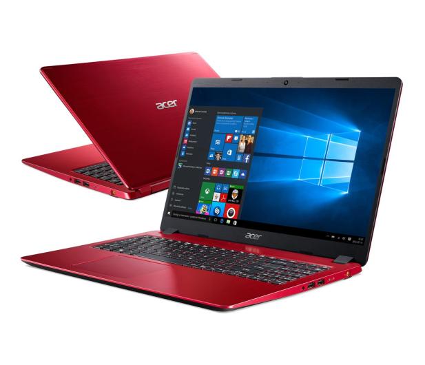 Acer Aspire 5 i3-8145U/4GB/480/Win10 IPS Czerwony - 500145 - zdjęcie
