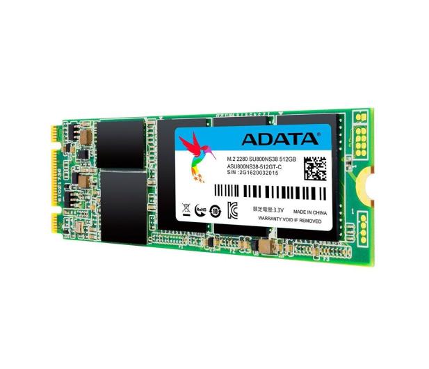 ADATA 512GB M.2 SATA SSD Ultimate SU800 - 352720 - zdjęcie 2