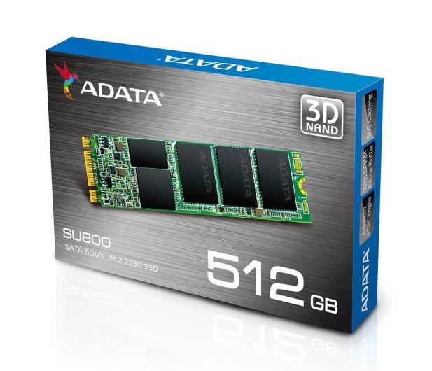 ADATA 512GB M.2 SATA SSD Ultimate SU800 - 352720 - zdjęcie 4