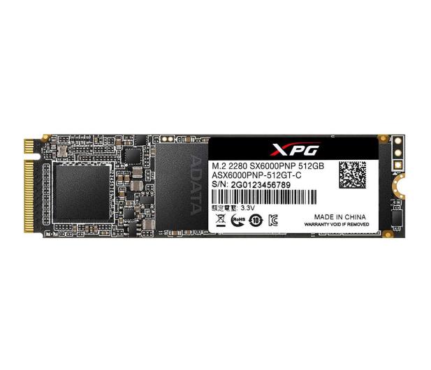 ADATA 512 M.2 PCIe NVMe XPG SX6000 Pro - 461045 - zdjęcie