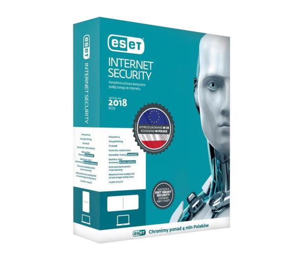 Eset Internet Security 1st. (24m.) kontynuacja  - 410833 - zdjęcie