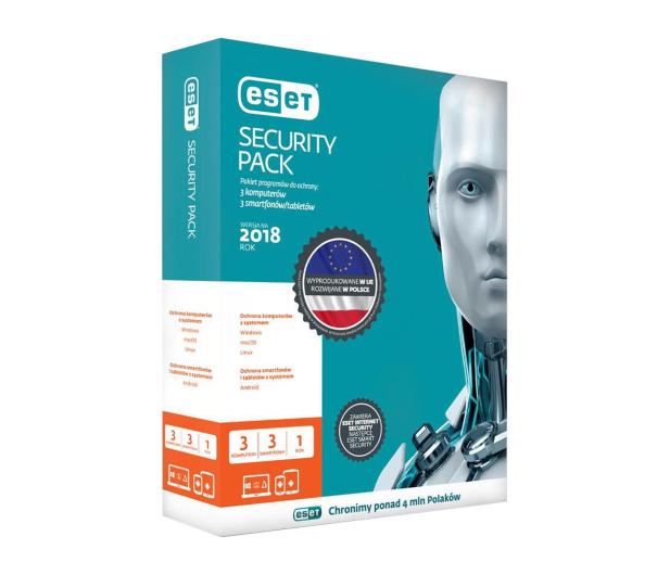 Eset Security Pack 3PC + 3smartfony (24m.) kontynuacja - 200654 - zdjęcie