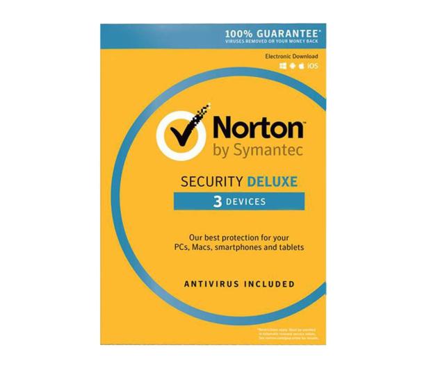 Symantec Norton Security Deluxe 3st. (12m.) ESD - 536430 - zdjęcie