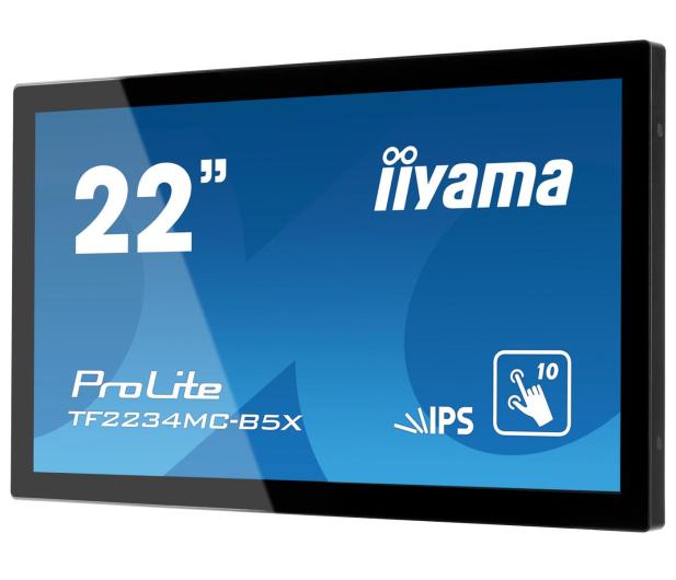 iiyama TF2234MC dotykowy czarny  - 472188 - zdjęcie 2