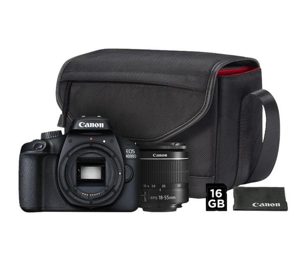Canon EOS 4000D 18-55 DC III VUK - 472213 - zdjęcie