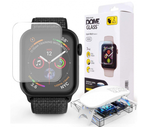 Whitestone Szkło Hartowane Dome Glass do Apple Watch 4 44 mm - 472230 - zdjęcie 1