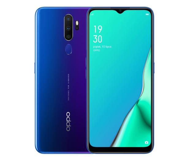OPPO A9 2020 4/128GB Dual SIM niebieski - 521666 - zdjęcie