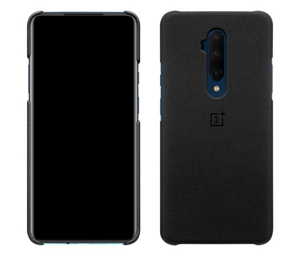 OnePlus Sandstone Protective Case do OnePlus 7T Pro czarny - 521225 - zdjęcie