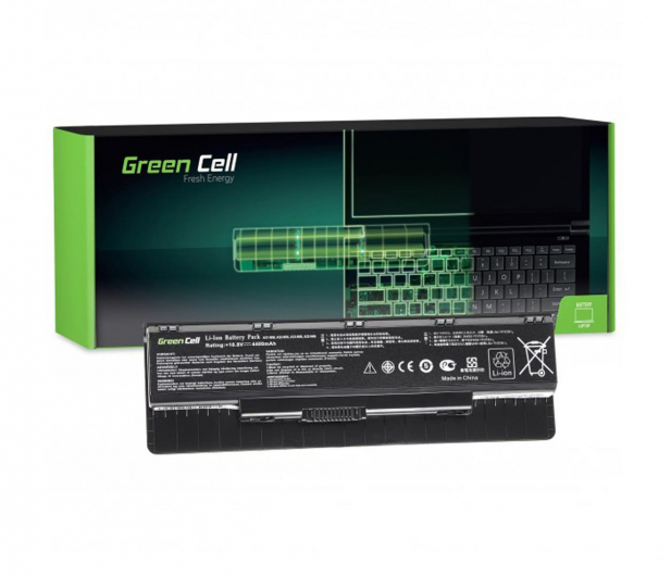 Green Cell Bateria do Asus (4400 mAh, 10.8V, 11.1V) - 514547 - zdjęcie