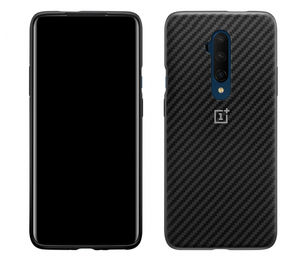 OnePlus Karbon Bumper Case do OnePlus 7T Pro czarny - 521226 - zdjęcie