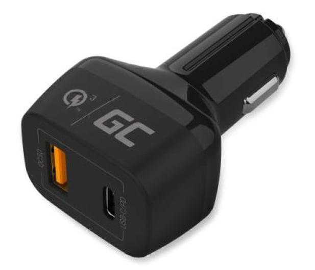 Green Cell Ładowarka Samochodowa USB-C, USB (QC 3.0) - 521471 - zdjęcie 4