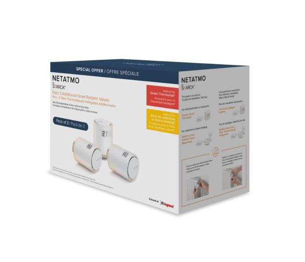 Netatmo 3x Valves (zestaw 3 dodatkowych głowic termostat.) - 522728 - zdjęcie 6