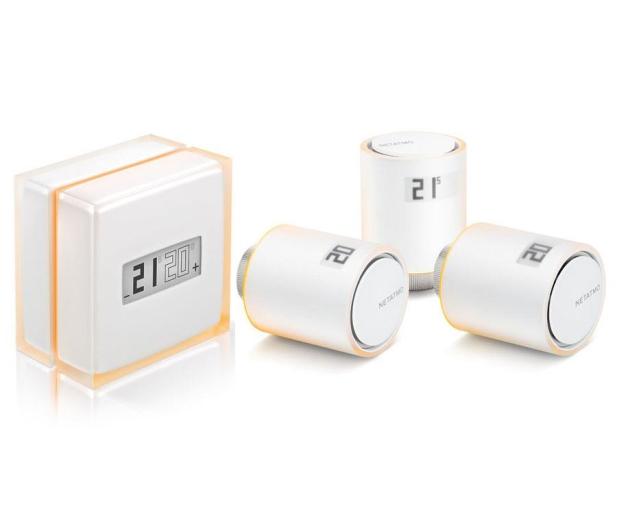 Netatmo Zestaw Thermostat + 3x Valves - 518556 - zdjęcie