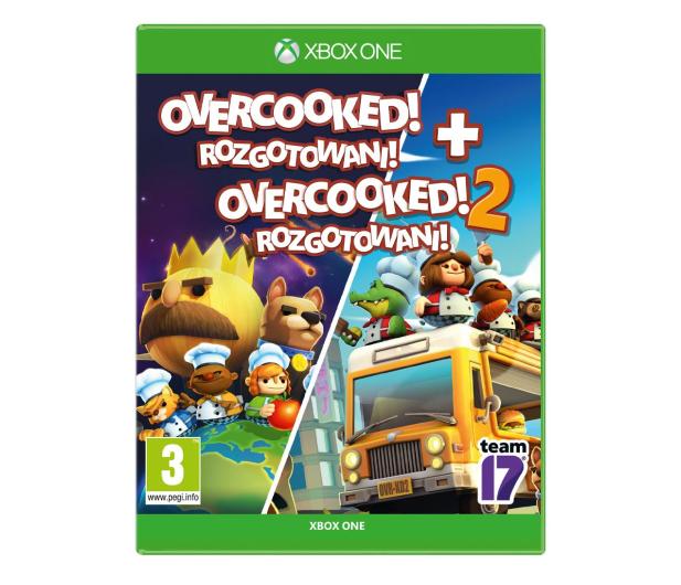 Xbox Overcooked! + Overcooked! 2 - 521774 - zdjęcie