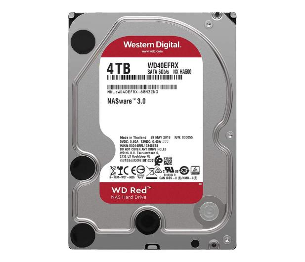 WD RED 4TB IntelliPower 64MB  - 156834 - zdjęcie