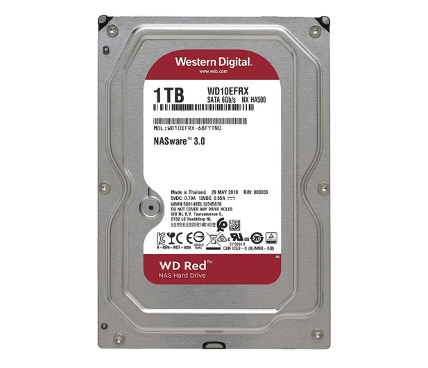 WD 1TB IntelliPower 64MB RED - 103163 - zdjęcie
