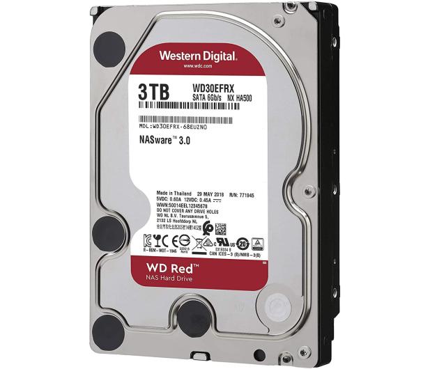 WD RED 3TB IntelliPower 64MB  - 103165 - zdjęcie