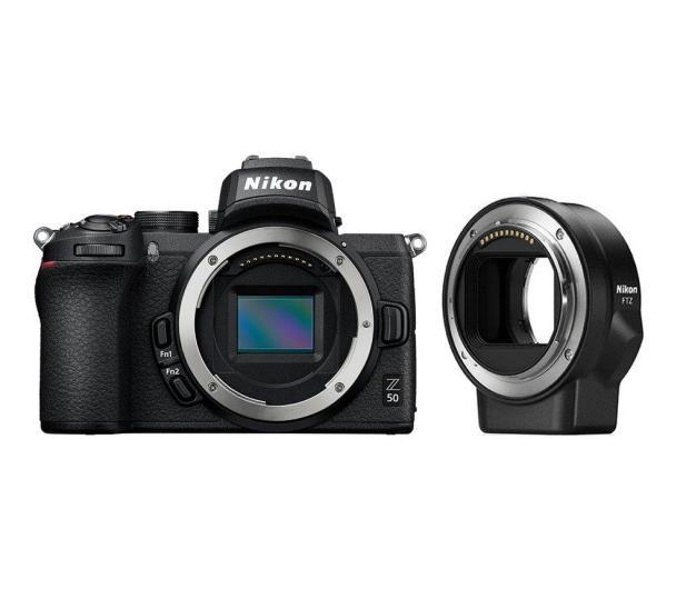 Nikon Z 50 + FTZ adapter - 522953 - zdjęcie 4