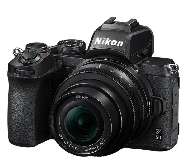 Nikon Z 50 + Nikkor Z DX 16-50mm VR + FTZ - 522955 - zdjęcie