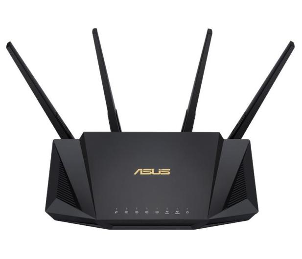 ASUS RT-AX58U (3000Mb/s a/b/g/n/ac/ax, 1xUSB, 4xLAN) - 521479 - zdjęcie 3