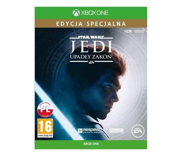 Xbox STAR WARS JEDI: Upadły Zakon Edycja Specjalna - 493546 - zdjęcie