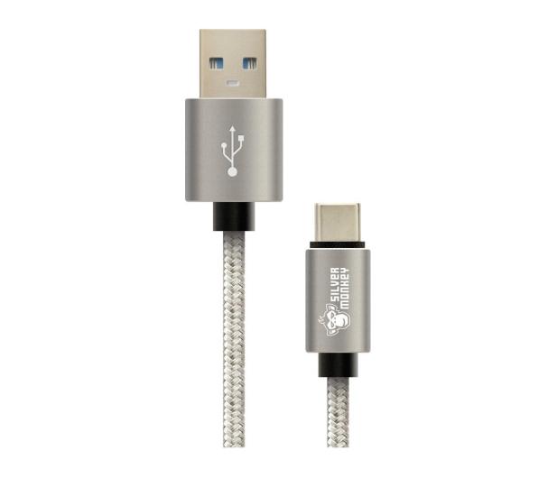 Silver Monkey Zestaw Uchwyt + Ładowarka + Kabel USB-C - 497333 - zdjęcie 13