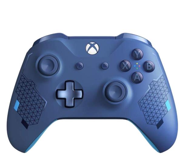 Microsoft Xbox One S Wireless Controller - Sport Blue - 518542 - zdjęcie