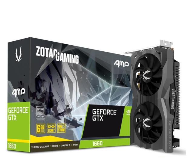 Zotac GeForce GTX 1660 Gaming AMP 6GB GDDR5 - 518602 - zdjęcie
