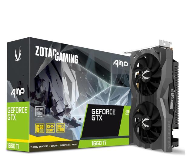 Zotac GeForce GTX 1660 Ti Gaming AMP 6GB GDDR6 - 518605 - zdjęcie
