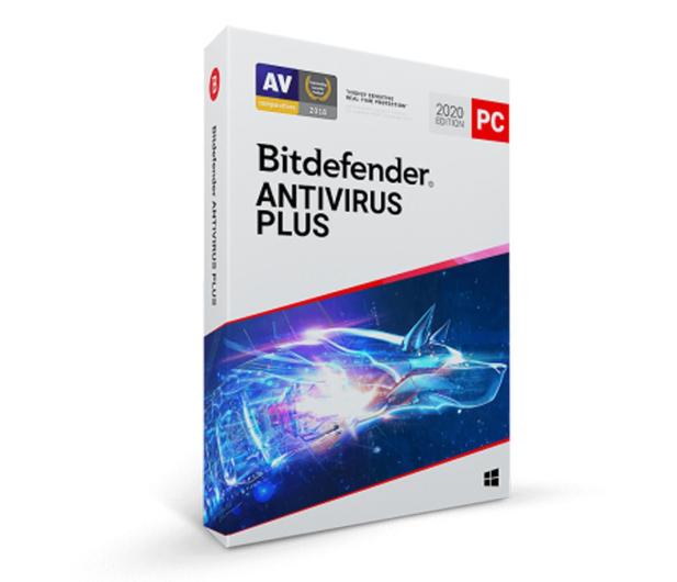 Bitdefender Antivirus Plus 2020 3st. (36m.) ESD - 414873 - zdjęcie