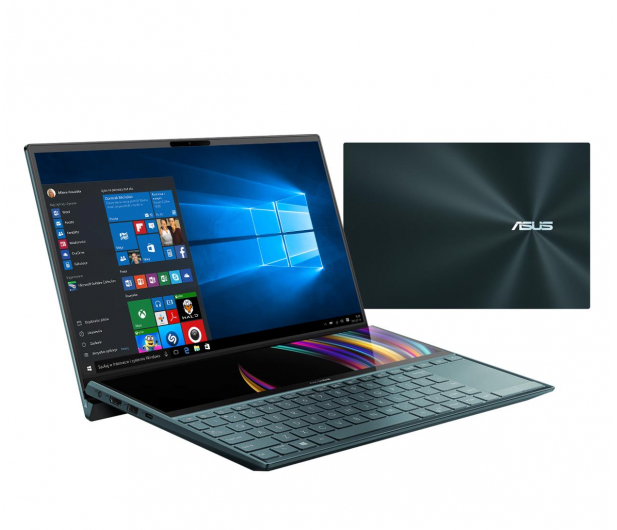 ASUS ZenBook Duo UX481FLC i7-10510U/16GB/1TB/Win10P - 522986 - zdjęcie