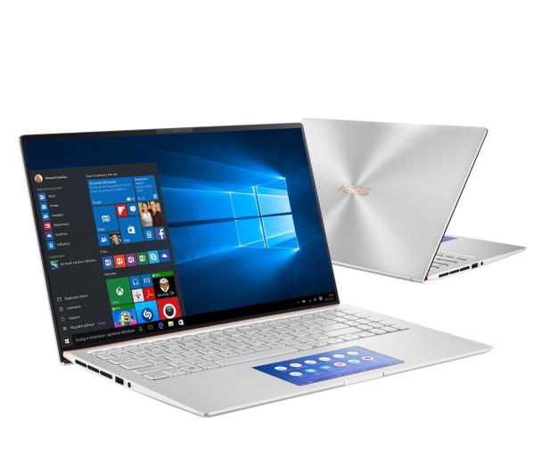 ASUS ZenBook 15 UX534FAC i5-10210U/8GB/512/W10 Silver - 544846 - zdjęcie