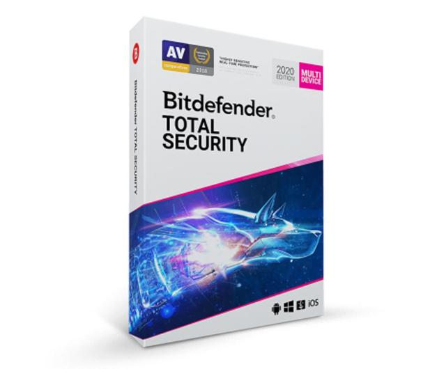 Bitdefender Total Security 2020 5st. (36m.) ESD - 414890 - zdjęcie