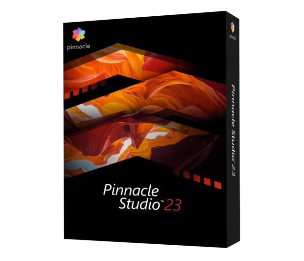 Corel Pinnacle Studio 23 Standard BOX - 523077 - zdjęcie