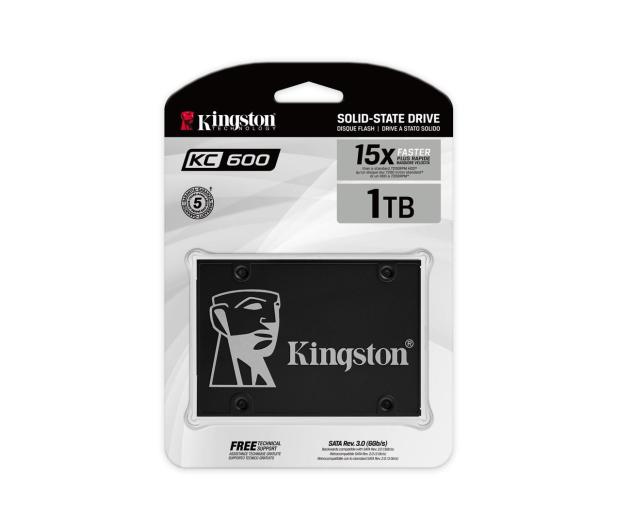 """Kingston 1TB 2,5"""" SATA SSD KC600 - 523933 - zdjęcie 4"""