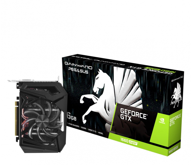 Gainward GeForce GTX 1660 SUPER Pegasus 6GB GDDR6 - 524603 - zdjęcie