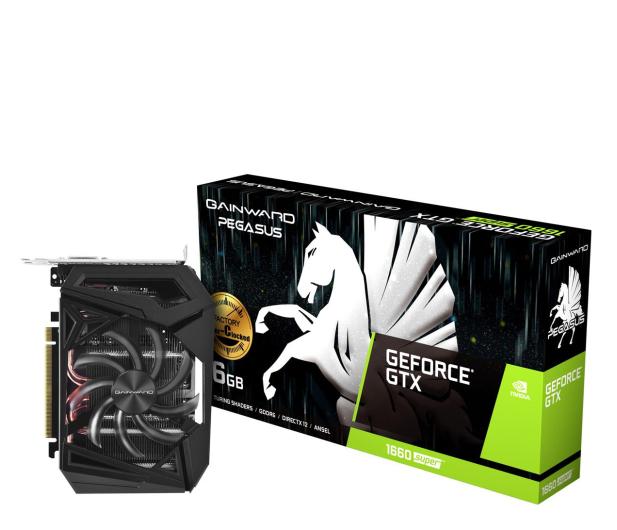 Gainward GeForce GTX 1660 SUPER Pegasus OC 6GB GDDR6 - 524604 - zdjęcie