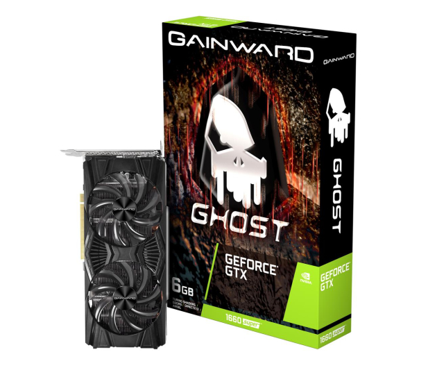 Gainward GeForce GTX 1660 SUPER Ghost 6GB GDDR6 - 524605 - zdjęcie