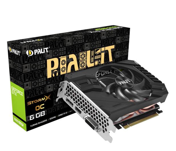Palit GeForce GTX 1660 SUPER StormX OC 6GB GDDR6 - 524616 - zdjęcie