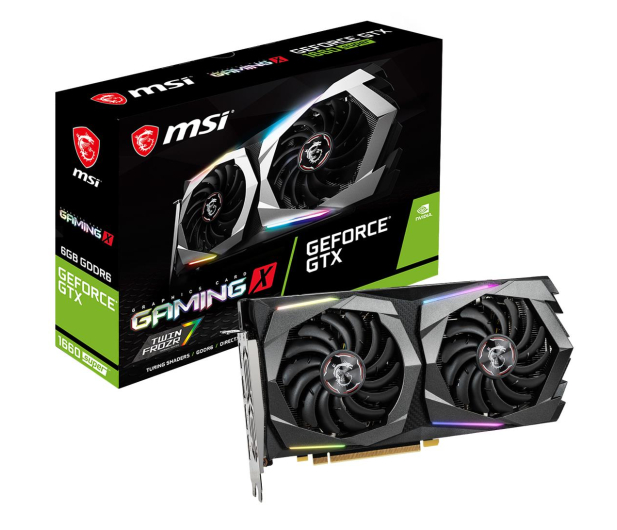 MSI GeForce GTX 1660 SUPER GAMING X 6GB GDDR6 - 520235 - zdjęcie