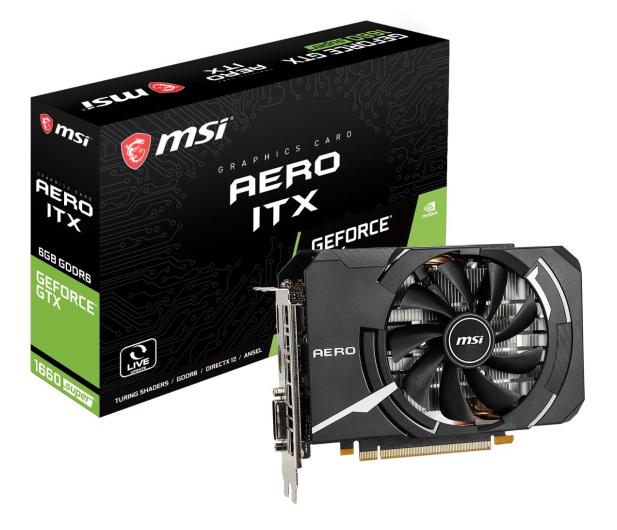 MSI GeForce GTX 1660 SUPER AERO ITX OC 6GB GDDR6 - 520242 - zdjęcie