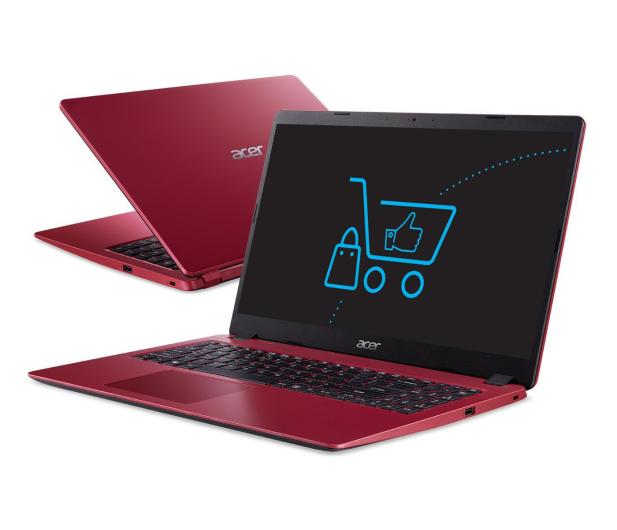 Acer Aspire 3 i3-10110U/4GB/256 Czerwony - 522175 - zdjęcie