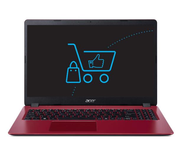 Acer Aspire 3 i3-10110U/4GB/256 Czerwony - 522175 - zdjęcie 2
