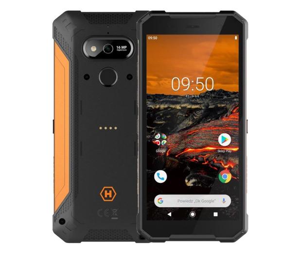 myPhone Hammer Explorer 3/32GB Pomarańczowy - 525263 - zdjęcie
