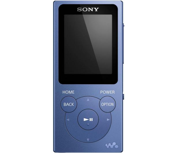 Sony Walkman NW-E393 Niebieski - 525326 - zdjęcie 2